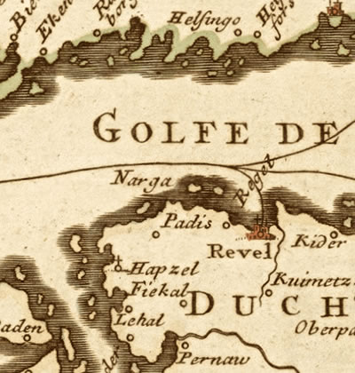 Soome lahe vana kaart